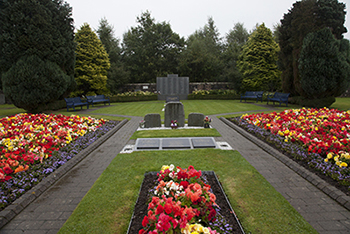Lockerbie Air Disaster Memorial and Garden of Remembrance, Dryfesdale Cemetery